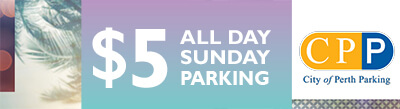 5dollar all day sunday parking city of perth parking